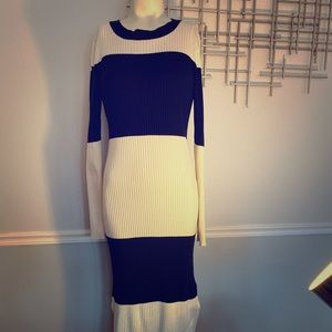 Ribbbed Knit Dress